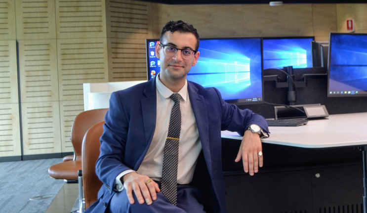Hamid Yahyaei –  investment analyst by day, finance lecturer by night