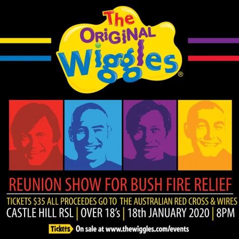 Wiggles bushfire concert