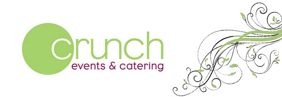 General home page hero for Crunch Events and Catering
