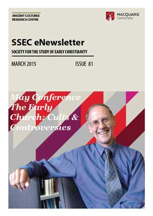 SSEC newsletter 81 cover