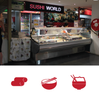Sushi World - Ph: (02)9695 0888