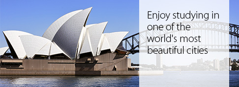 Enjoy studying in one of the world's most beautiful cities