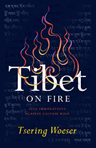 Book cover: Tibet on Fire