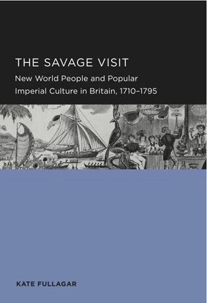 A photo of the book cover of The Savage Visit.