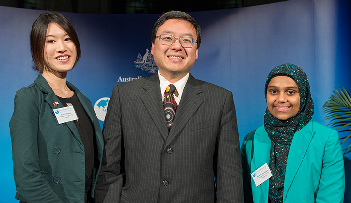New Colombo Plan Scholarships for two of our brightest