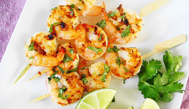 Plate up the perfect prawn